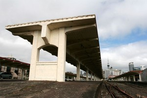 The old Auckland Railway station. Photo / The Aucklander