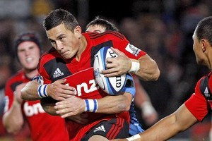 Sonny Bill Williams leads the Super 15 in off-loads. Photo / Getty Images