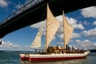 New Zealand's vaka crew was yesterday farewelled for it's voyage across the Pacific to Hawaii and the United States. The fleet is prepared for a Friday departure. Photo / Richard Robinson