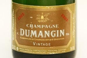 Dumangin Premier Cru Vintage 2003. Photo / Steven McNicholl