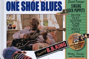 B.B. King and Momsock are a hit partnership for children. Photo / Supplied