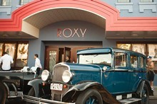 The Roxy cinema has been restored to its former retro glory. Photo / Steve Unwin