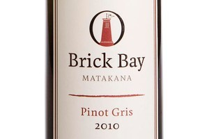 Brick Bay Pinot Gris 2010 $32. Photo / Babiche Martens
