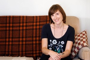 Editor of Extra Curricular magazine Ellie Smith. Photo / Babiche Martens