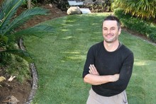 Laying a Readylawn means you know what the finished product will look like. Photo / Natalie Slade