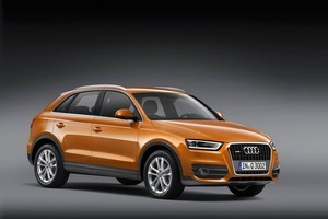 The new SUV sticks to Audi's traditional features with single-frame grille and trapezoidal headlamps. Photo / Supplied