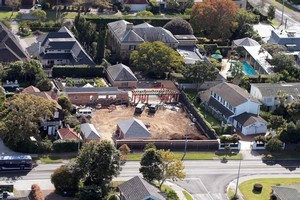 Two of Lucy Lawless' properties are being converted into greenies' delight. Photo / Doug Sherring
