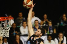 Alex Pledger's 13 points helped the Breakers to crush the Taipans. Photo / Richard Robinson