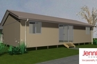 The basic homes will provide temporary housing. Photo / Supplied