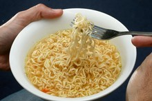 Instant noodles are soaking up world supplies of edible oil at an alarming rate. Photo / Brett Phibbs