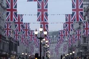 Britain is prepared for the fanfare. Photo / AP