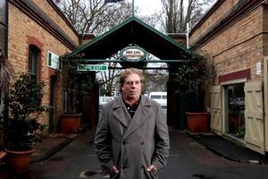 Property developer David Henderson at the Victoria Park Markets. Photo / Janna Dixon