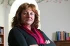 Christchurch writer Charlotte Randall. Photo / Simon Baker