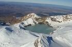 Mt Ruapehu's Crater Lake. Photo / Jared Savage