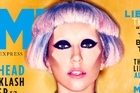 Lady Gaga on the cover of British magazine 'NME'. Photo / Supplied