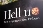 Clay Nelson from St Matthew-in-the-city discusses the new 'Hell No' billboard.