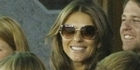 View: Liz Hurley cheers on Shane Warne