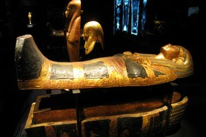 Win a trip to the King Tut exhibition in Melbourne. Photo / Greg Dixon