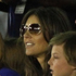 British actress and model Elizabeth Hurley, fourth right, watches an Indian Premier League (IPL) cricket match. Photo / AP