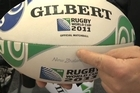 Andy Challice and Aaron Mauger discuss the Virtuo 2011 Rugby World Cup Gilbert match ball, revealed today.