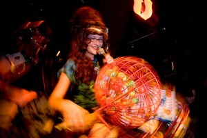 Bitchin Bingo, run by Mistress Viv at Cassette Number Nine, is bingo as you've never seen it before. Photo / Dean Purcell