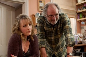 Lesley Manville and Jim Broadbent star in Mike Leigh's latest. Photo / Supplied