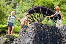 The Woodstock Battery in the Karangahake Gorge. Photo / Tourism Coromandel