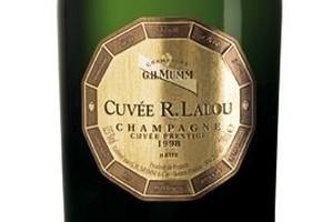 Champagne Mumm R Lalou Cuvee Prestige 1999 $360. Photo / Supplied