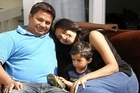 Ashish, Kinnnary and Aarush Macwan. Photo / Supplied