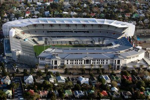 Eden Park's upgrade formed part of the beat-up. Photo / Bradley Ambrose