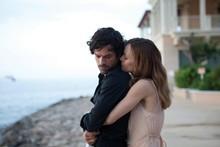 Alex (Romain Duris) and Juliette (Vanessa Paradis) in a scene from 'Heartbreaker'. Photo / Supplied