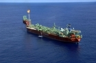 A Petrobas oil platform. Photo / Supplied