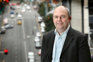 IT minister Steven Joyce has given anti-competitive subsidies to companies in the ultra-fast broadband scheme. Photo / Brett Phibbs