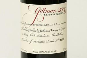 2006 Gillman Matakana Bordeaux Style $70. Photo / Brett Phibbs