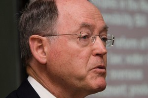 From within Parliament Don Brash could challenge Government spending. Photo / Mark Mitchell