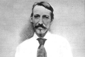 Robert Louis Stevenson. Photo / Supplied