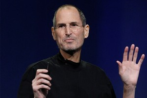 CEO Steve Jobs denied Apple were tracking anyone in a telephone interview with the All Things Digital blog Mobilized. Photo / AP