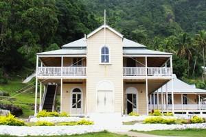 Levuka Public School, first school in Fiji, is still running. Photo / Jim Eagles