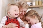 An extra hand from a grandparent lifts the weight of parenting off their children, alleviating their stresses as they share their child-rearing knowledge. Photo / Thinkstock