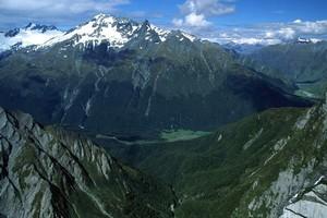 Mt Aspiring National Park.