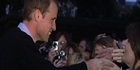 Watch: Prince William surprises fans on eve of wedding