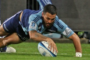 Rene Ranger had three line breaks against the Rebels, one leading to a try. Photo / Getty Images