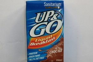 Up&Go Choc Ice Flavour. Photo / Supplied
