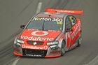 Jamie Whincup drives the Team Vodafone Holden. Photo / Getty Images