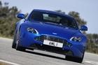 Aston Martin's V8 Vantage S - lighter, stroppier and harder. Photo / Supplied