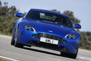 Aston Martin's V8 Vantage S - lighter, stroppier and harder. Photo / Supplied