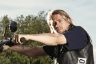 Actor Charlie Hunnam as Jax Teller in Sons of Anarchy. Photo / Supplied