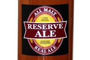 Sunshine Brewery Reserve Ale $6.50 for 1.25L bottle. Photo / Supplied