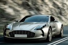 Aston Martin's One-77 coupe. Photo / Supplied