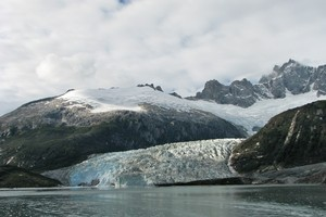 Pia Glacier. Photo / Jill Worrall